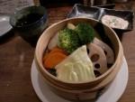 梅マヨde温野菜
